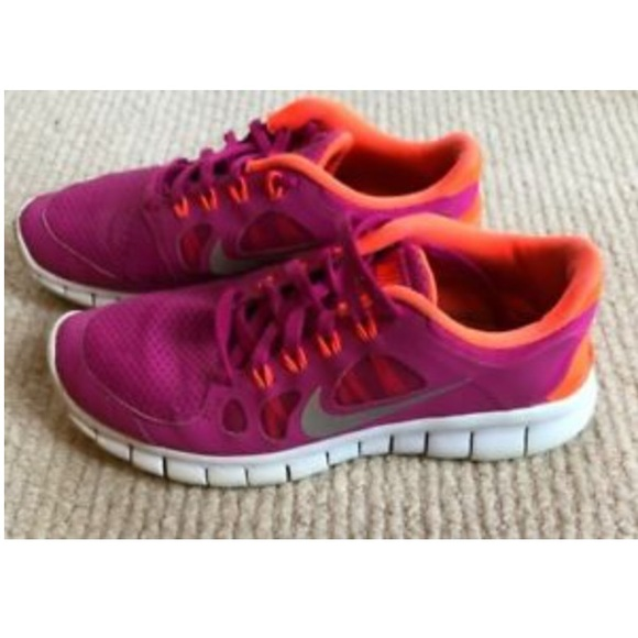 detailed look 1435a 0283d FIRM PRICE Pink Nike Free Run 5.0